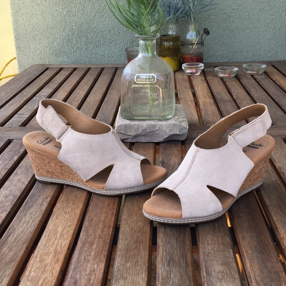 Clarks Collection Soft Cushion Wedge